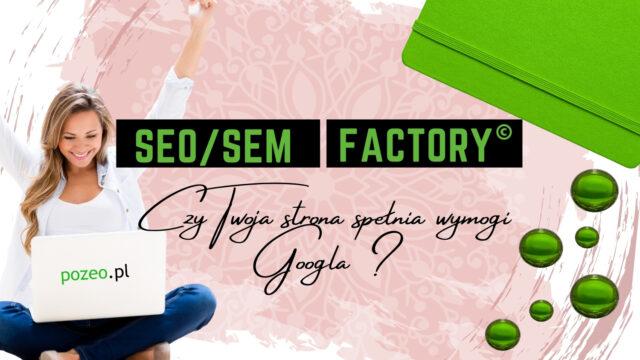 Jak zadbać odobrą widoczność strony wGoogle?