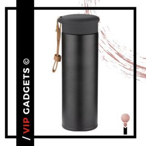 butelka termiczna czarna, matowa_Ideas Factory